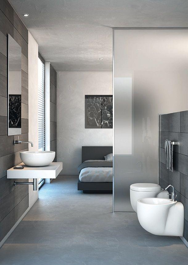 reformar el piso. Habitación con Baño sin Tabiques