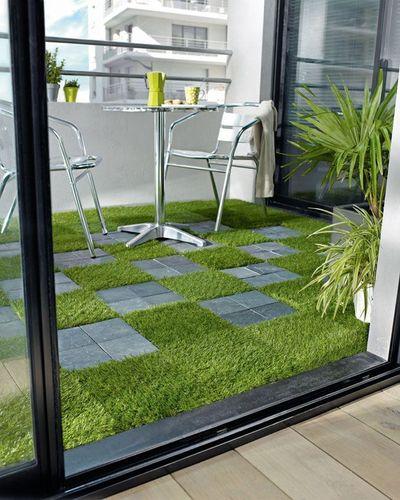 Reformar tu terraza. Suelo de terraza mixto