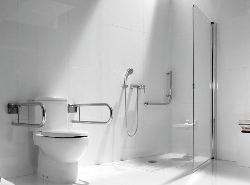 Convertir un aseo en un cuarto de baño adaptado para minusválidos y ...