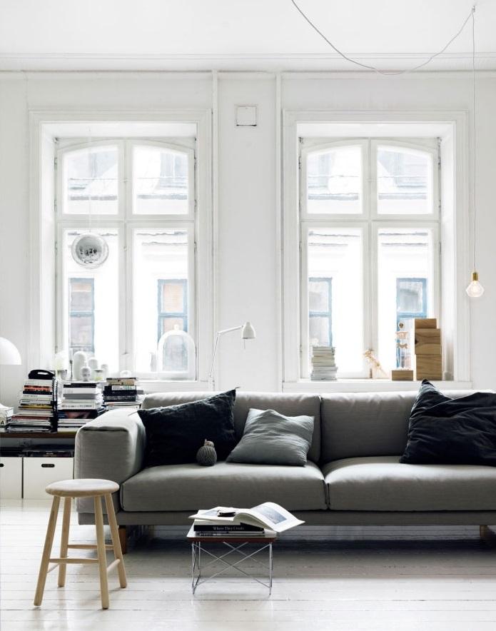 Reforma de cocina, Salón estilo nórdico