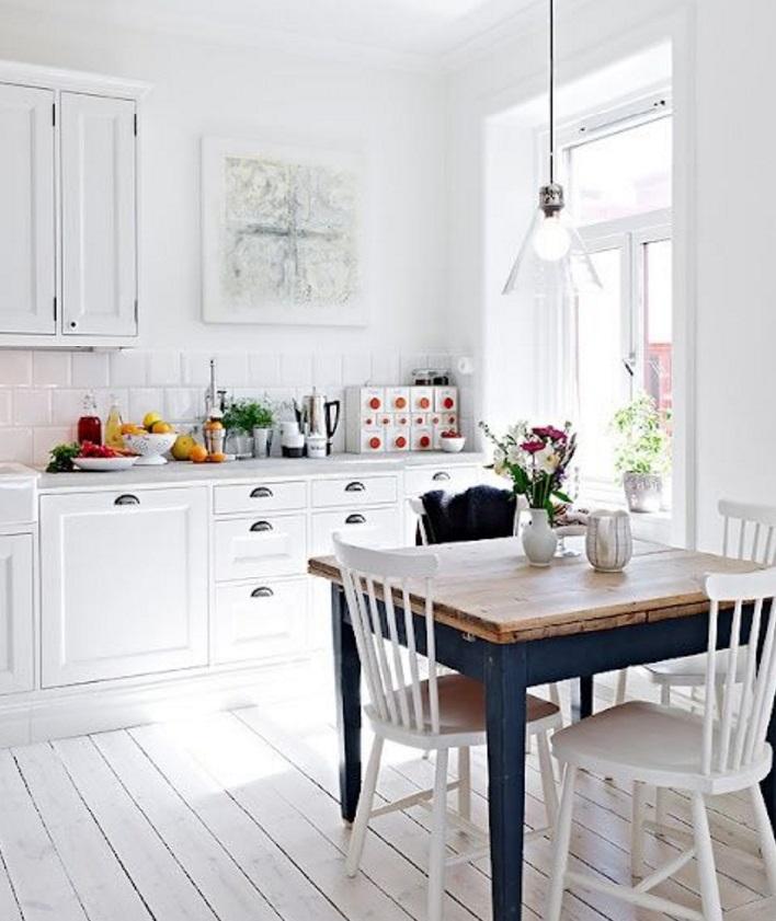 Reforma de cocina al estilo n rdico - Estilo nordico escandinavo ...