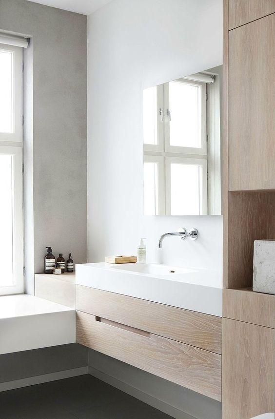 Tips para una reforma integral. Reforma de baño estilo nórdico
