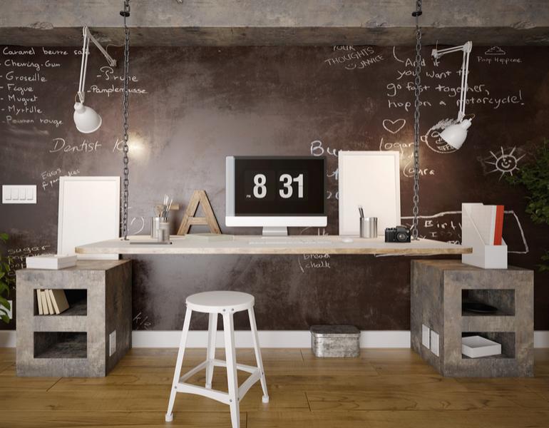 8 consejos de decoracin de despachos en casa - Decoracion Despachos