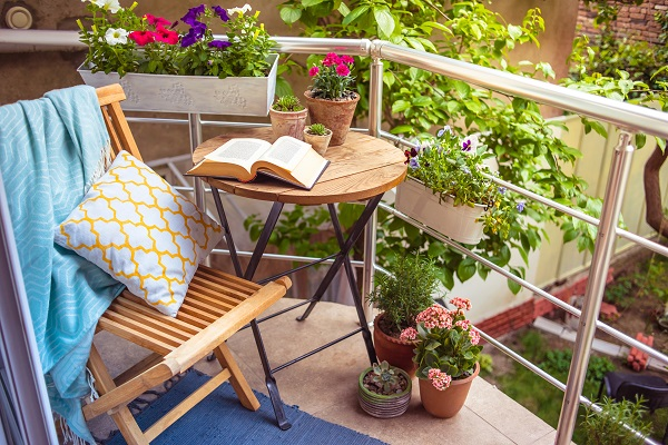 10 consejos de decoración de terrazas pequeñas exteriores