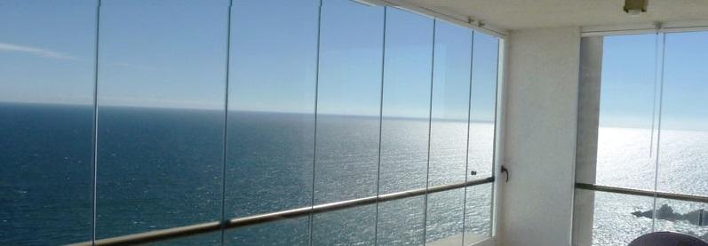 Cortinas de cristal para terrazas, el cerramiento perfecto
