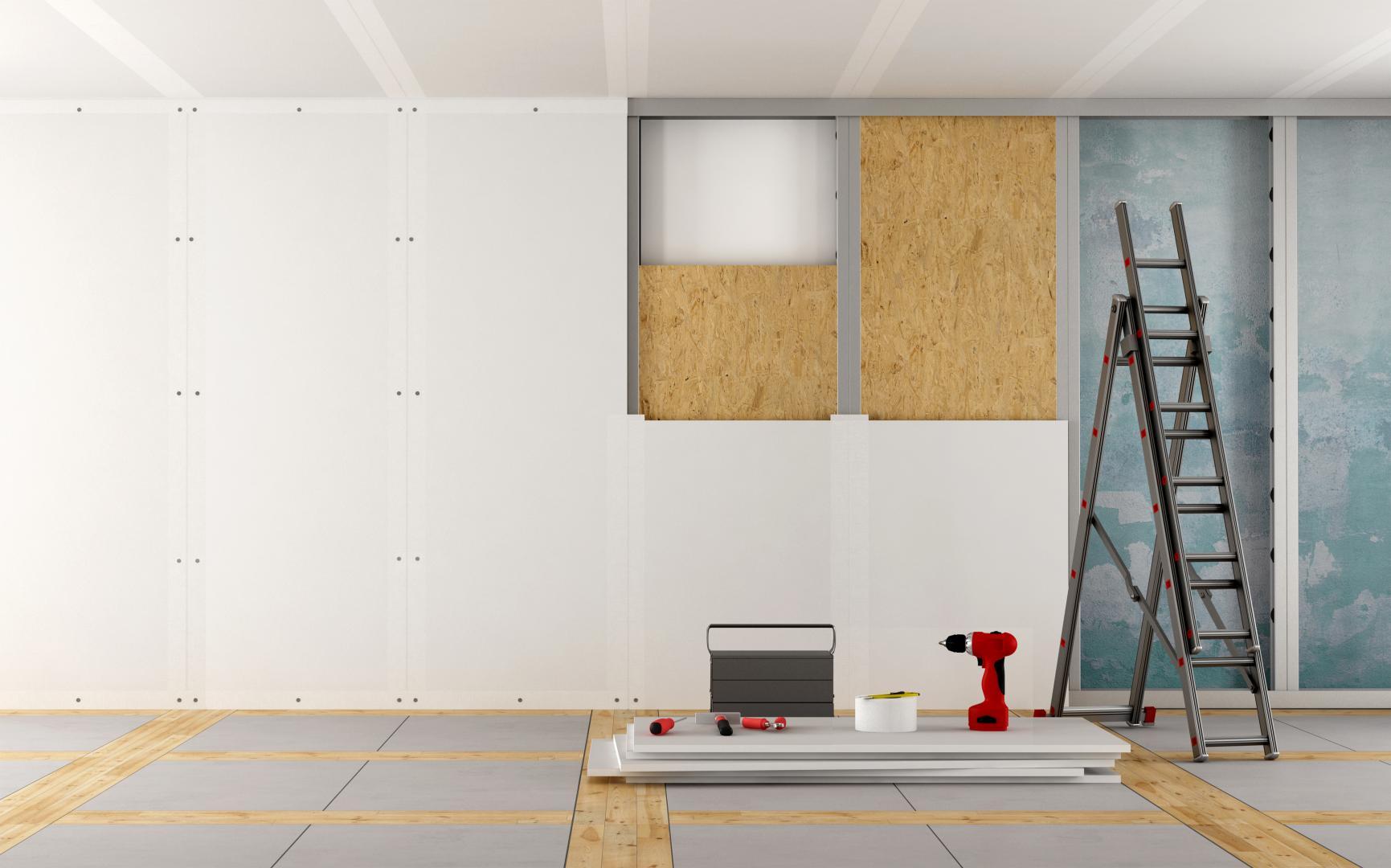 Instalar aislante acústico para paredes en una reforma integral