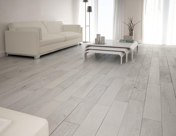 Suelo parquet blanco cmo decorar un saln moderno con un suelo duradero hermosa habitacin - Suelo parquet blanco ...