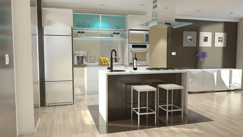 Razones para tener cocinas abiertas al salón en cualquier tipo de vivienda