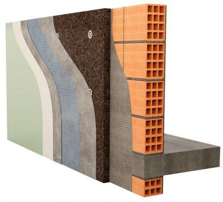 Sistema SATE de aislamiento térmico de fachadas